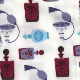 Posh Fragrances Women's Perfumes 100% Cotton Poplin Fabric Patchwork (FF)