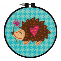 Learn-a-Craft: Counted Cross Stitch Kit: Little Hedgehog