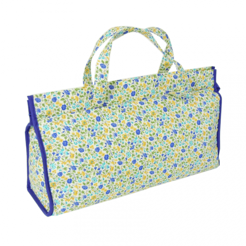 Birdsong Collection Floral Craft Sewing Knitting Triangle Bag Accessories