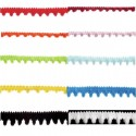 Pom Pom Trim: 27.4m x 7mm Craft Decorative Ribbon