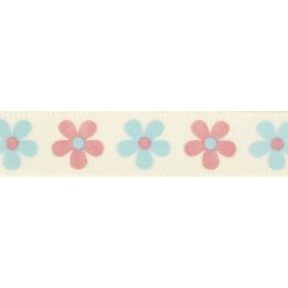 Natural Charms Sow & Grow Daisy Berisfords Ribbon 4m x 15mm