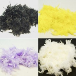 1.8 Metre Marabou Boa Feather Trim Dress Costumes Gifts Craft Decoration Trimits
