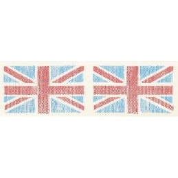 Natural Charms Home Front Vintage Flag Berisfords Ribbon 3m x 25mm