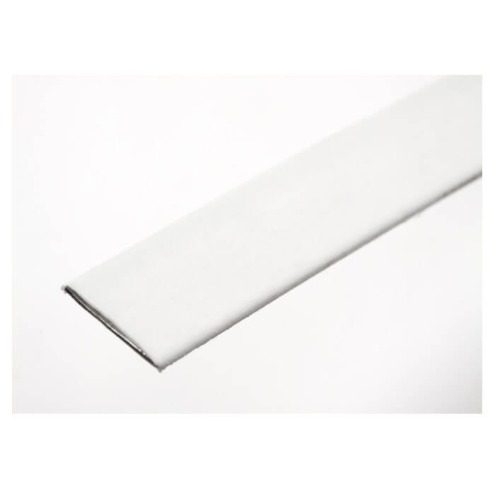 Hemline Plastic Coated Steel Boning White 1m  x 10mm