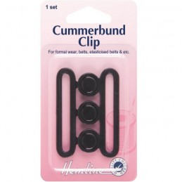 Hemline Cummerbund Sash Attachment Nurse Belt Strap Clip Buckle