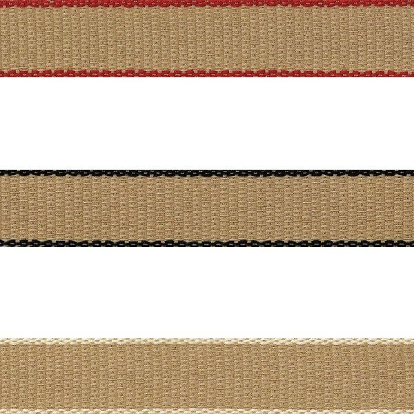 Natural Charms Back To Nature Hopsack Berisfords Ribbon 4m x 15mm
