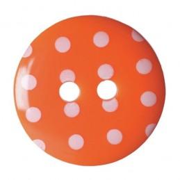 Pack of 4 Hemline Spotty Dotty Craft 2 Hole Sew Through Buttons 17.5mm