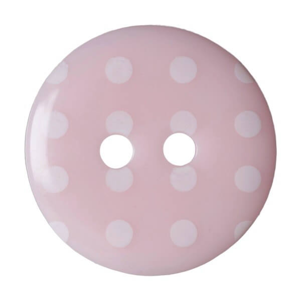 Pack of 4 Hemline Spotty Dotty Craft 2 Hole Sew Through Buttons 17.5mm