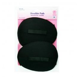 Hemline Shoulder Pads Raglan Style Medium In Black Or White