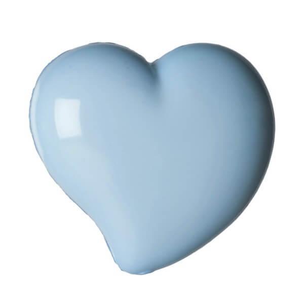 Pack of 4 Hemline Domed Hearts Craft Shank Back Buttons 11.25mm