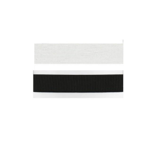 Hemline Fitright Belting 1m x 25mm In Black Or White