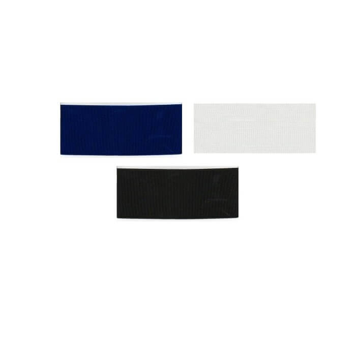 Hemline Nurses Belt Elastic 1m x 50mm In Black, White Or Navy