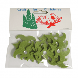 12x Jewelled Christmas Trees Embellishments Cardmaking Scrapbooking