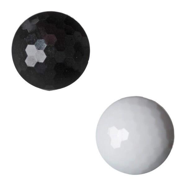 Pack of 6 Hemline Golf Ball Shank Back Buttons 17.5mm