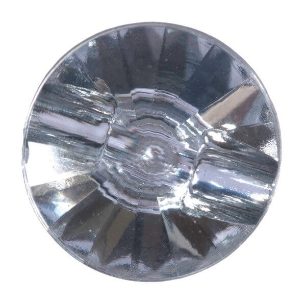 Pack of 3 Hemline Diamond Prism Style Shank Back Buttons 12.5mm