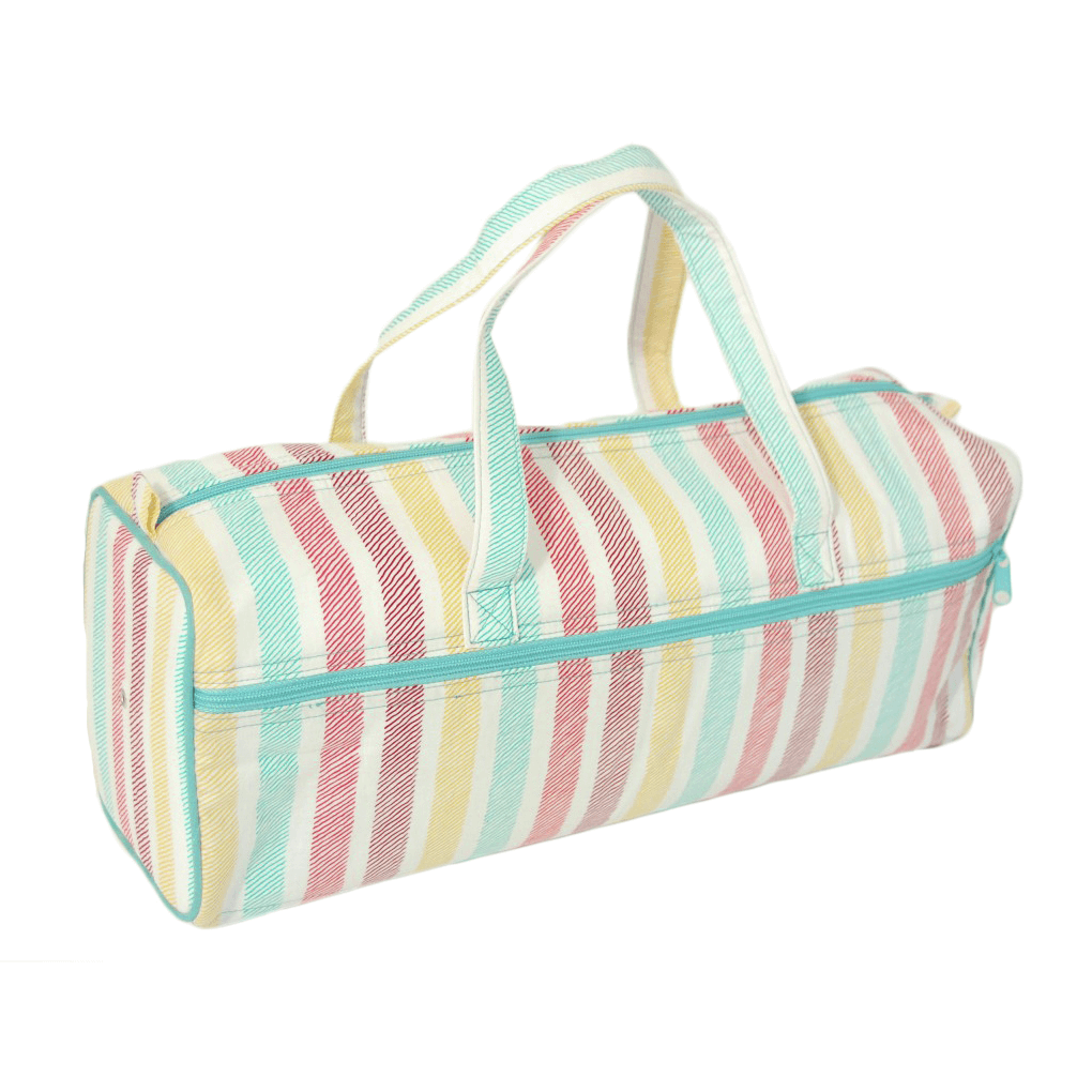 Sketch Stripe Collection Pastel Sewing Knit Bag Essential Accessories