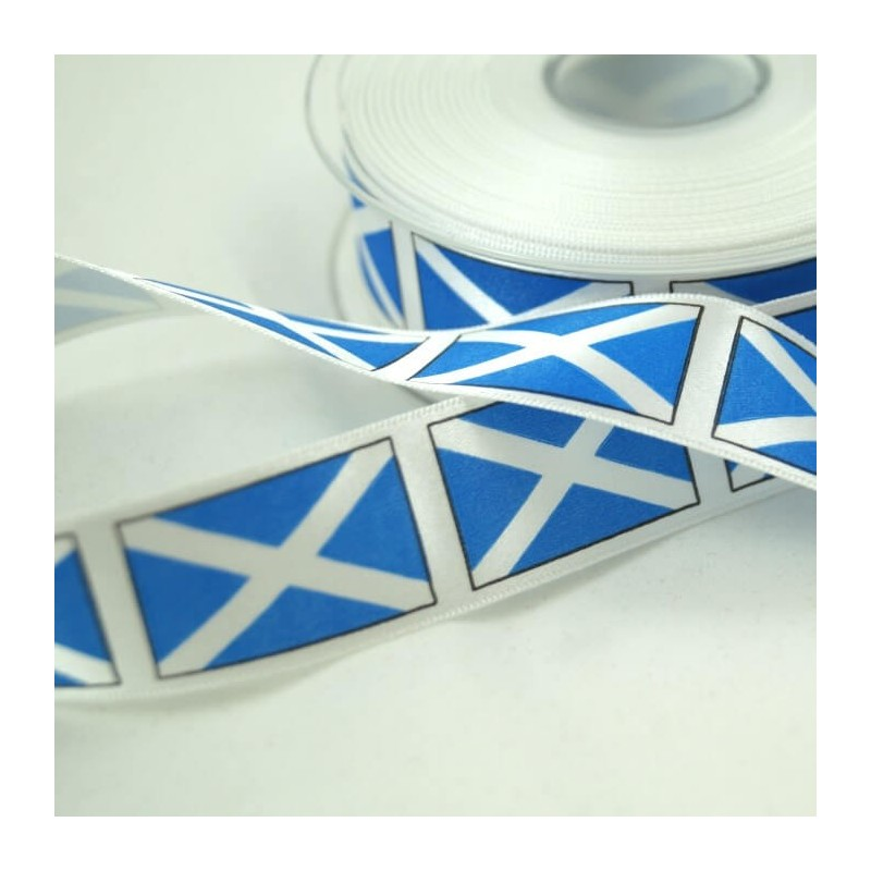 S.t Andrews Cross Ribbon 25mm, 35mm, 70mm