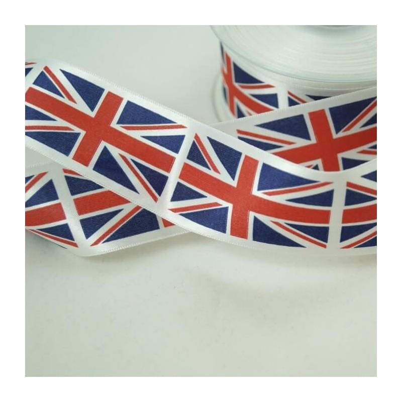 Union Jack Ribbon 25mm, 35mm, 70mm
