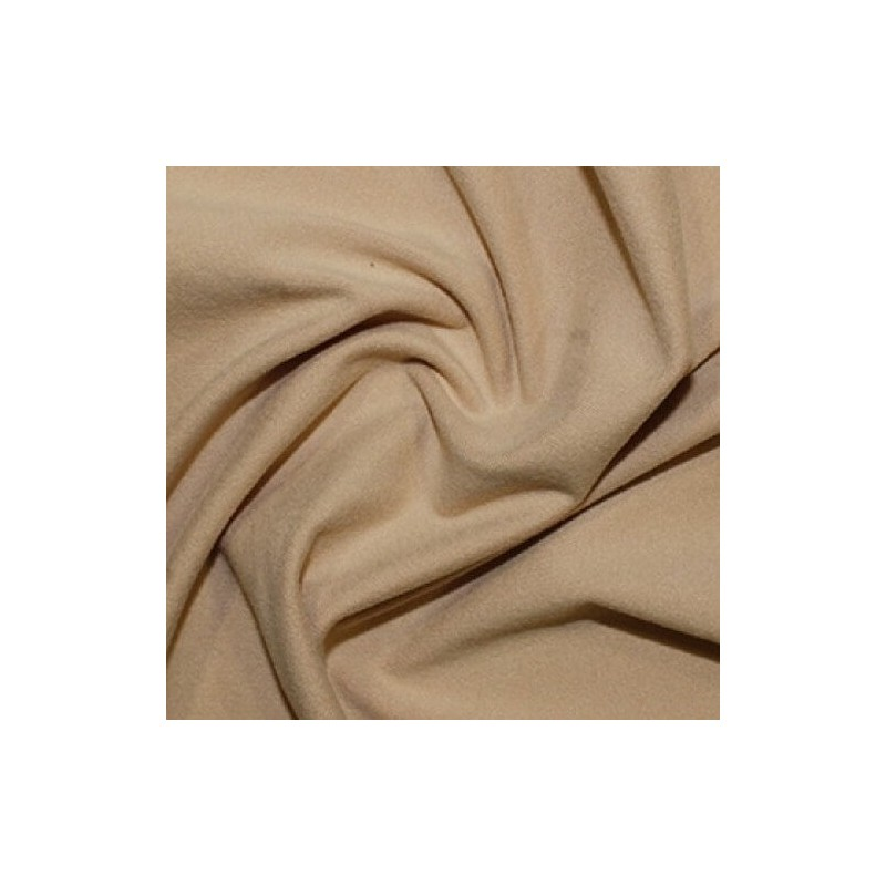 Plain Coloured Warm Handle Jersey Polyester Spandex Fabric (147cm wide)