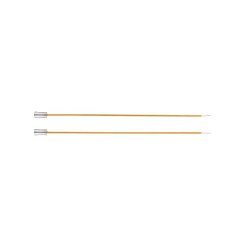 30cm Knitting Pins Set Zing Single Ended