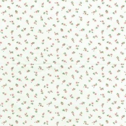 Super Mini Ditsy Dotty Daisy Floral Flowers 100% Cotton Fabric