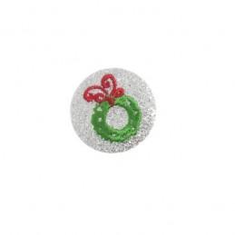 Glittery Christmas Festive Characters Santa Presents Motif Felt Shapes