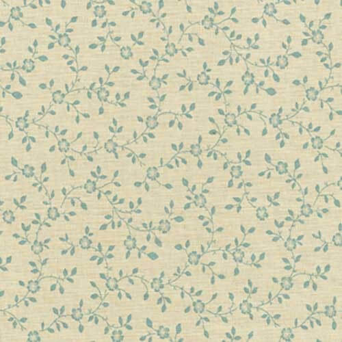 South Road Floral Overgrown Vines Leaves 100% Cotton Fabric