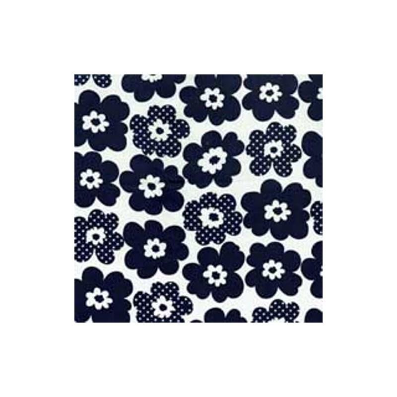 Peters Petals Flower Heads 100% Cotton Fabric