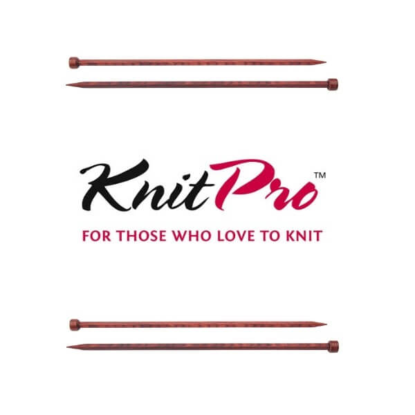 KnitPro Cubics Single Pointed Knitting Pins Needles 25cm