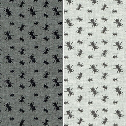 Amazing Ants Marching Colony Insect Cotton Polyester Fabric