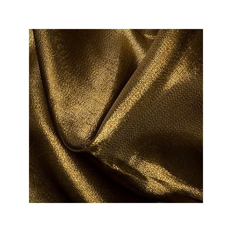 Gold/Black Metallic Organza Fabric