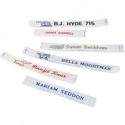 CASH 72 Personalised Woven Name Tapes