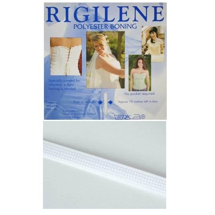 Clear Rigilene Polyester Boning 12mm