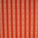 Scandi Stripe Natural on Red