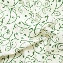 Holly Bush Swirls Green/White
