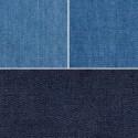 4oz Washed Denim Fabric 100% Cotton