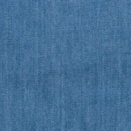 Light Denim 4oz Washed Denim Fabric 100% Cotton