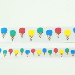 Ice Creams Ribbon 15mm Or 25mm