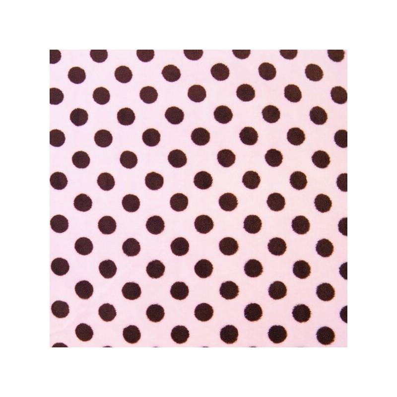 Penny Spot Polka Dots 147cm Super Soft Cuddle Fleece Fabric