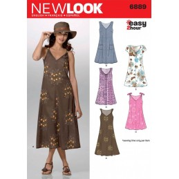 New Look Misses' Easy 2-Hour* Pullover Dress Sewing Pattern 6889