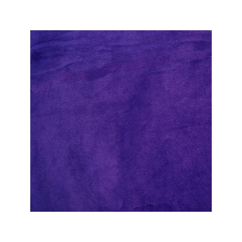 Purple Plain Coloured Super Soft Double Sided Cuddle Fleece Fabric 147cm