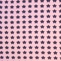 Simon's Smiley Friendly Stars In Lines Cotton Elastane Jersey Fabric (P)