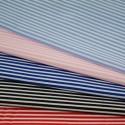 100% Cotton Poplin Fabric Rose & Hubble 3mm Candy Stripes