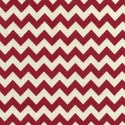 Red 8mm Chevrons Stripes Lines Linen Look Cotton Fabric Patchwork
