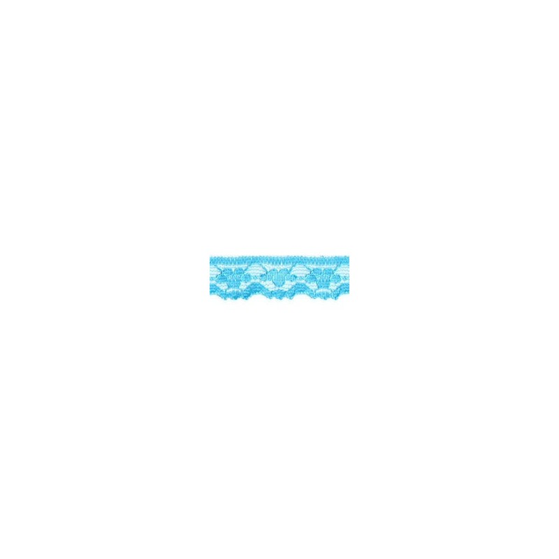 Nylon Lace Turquoise 2m x 11mm, 35mm, 55mm