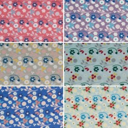Spring Breeze Flowing Flowers 100% Cotton Patchwork Fabric (Fabric Freedom)