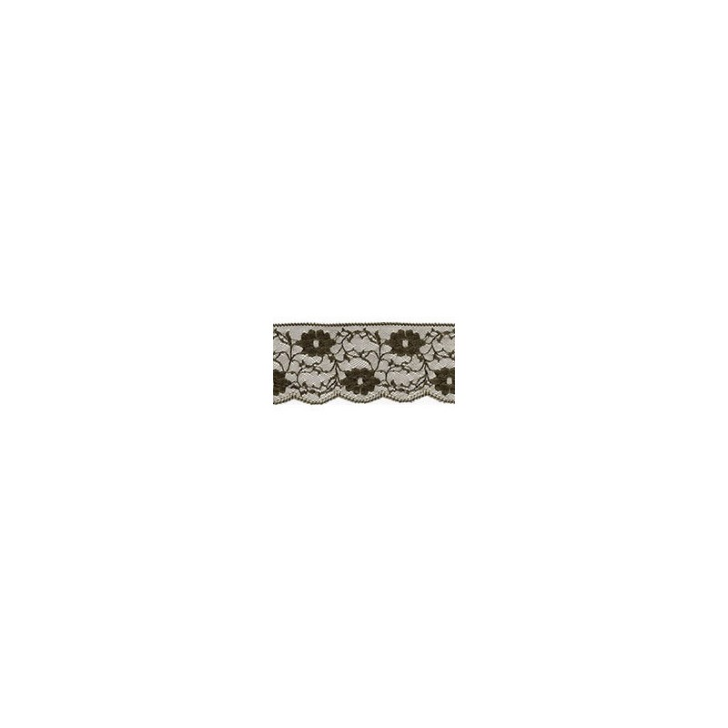 Nylon Lace Olive Green 2m x 11mm, 35mm, 55mm
