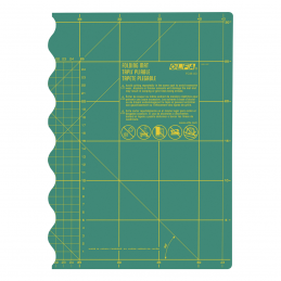 Olfa Foldable Medium Cutting Mat 12 x 18 Inches / 30 x 45cm A3 Size
