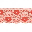 Nylon Lace Coral Red 2m x 11mm, 35mm, 55mm