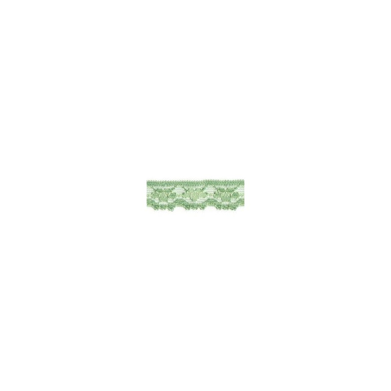 Nylon Lace Pale Green 2m x 11mm, 35mm, 55mm